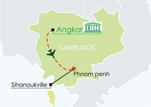 Circuit Cambodge 8 jours