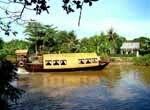 Bateau privé sur le Mékong, Vietnam