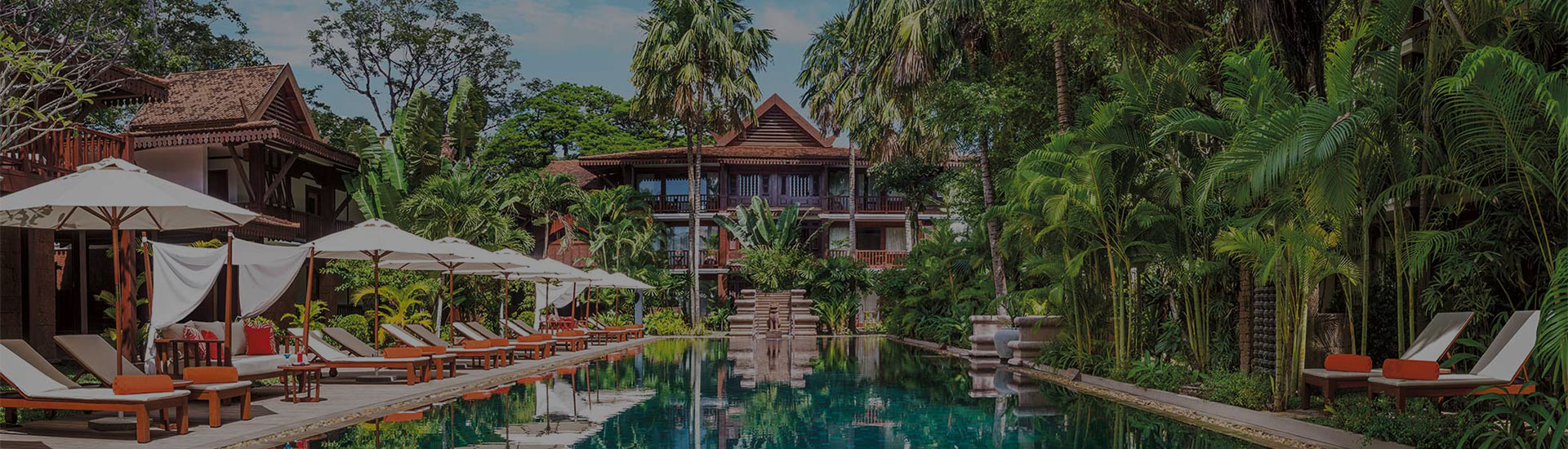 Magie du luxe cambodge