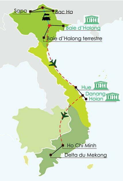 Circuit nord vietnam - 15 jours - Les must et des ethnies du nord du Vietnam