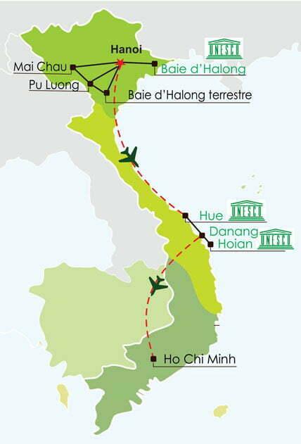 Circuit Vietnam 15 jours - Les must du Vietnam et reserve naturelle Pu Luong