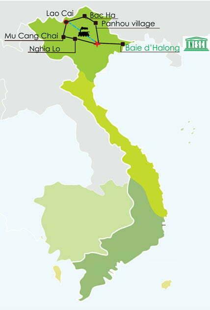 Circuit Vietnam 16 jours - Vagabondages entre merveilles du nord et croisière de charmes