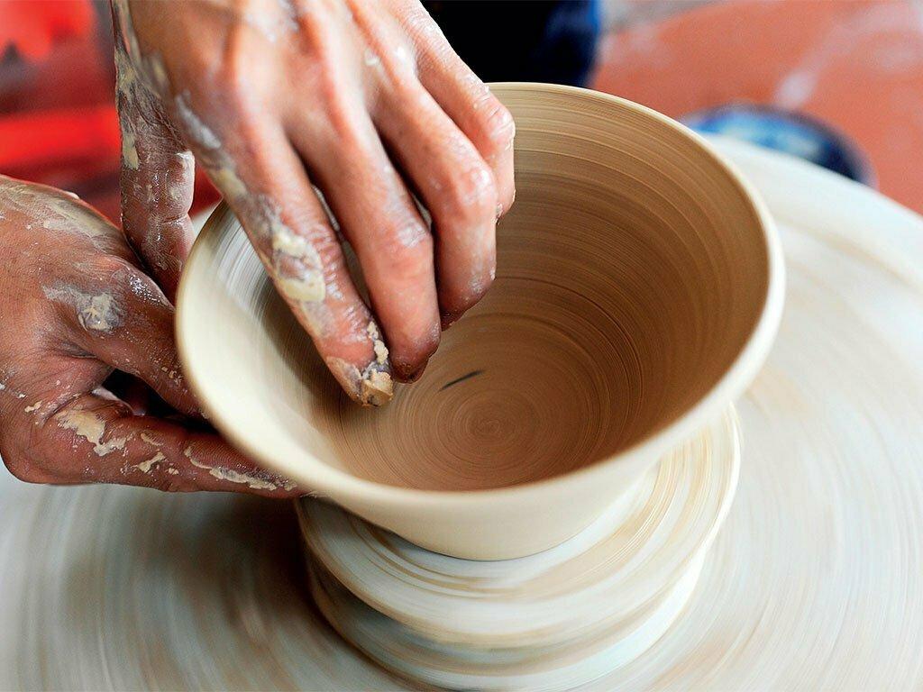 villages artisanaux, poterie, Vietnam