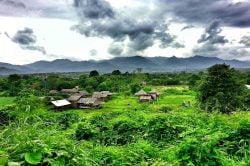 Point de vue sur Pai Thailande