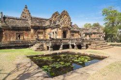 Temple Khmère Thailande
