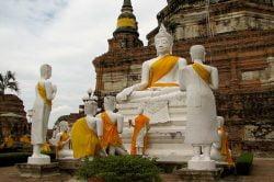 Wat Yai Chaimongkol Thailande