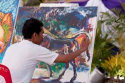 artiste peintre Thailande
