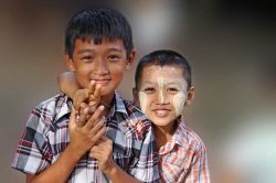 enfants birmanie