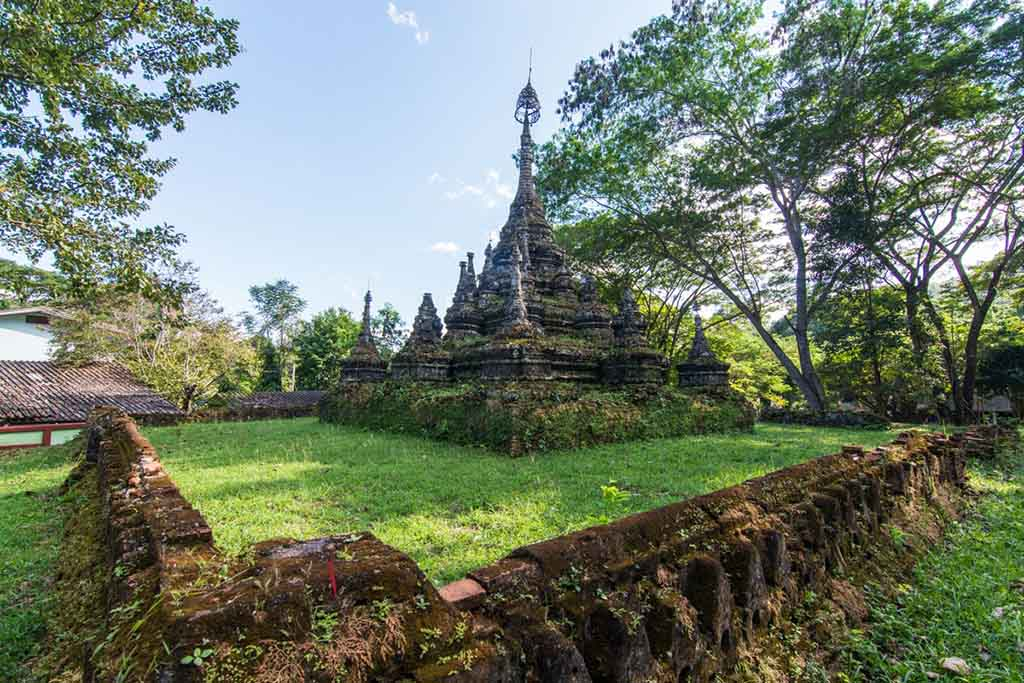 temple Chiang Dao Thailande
