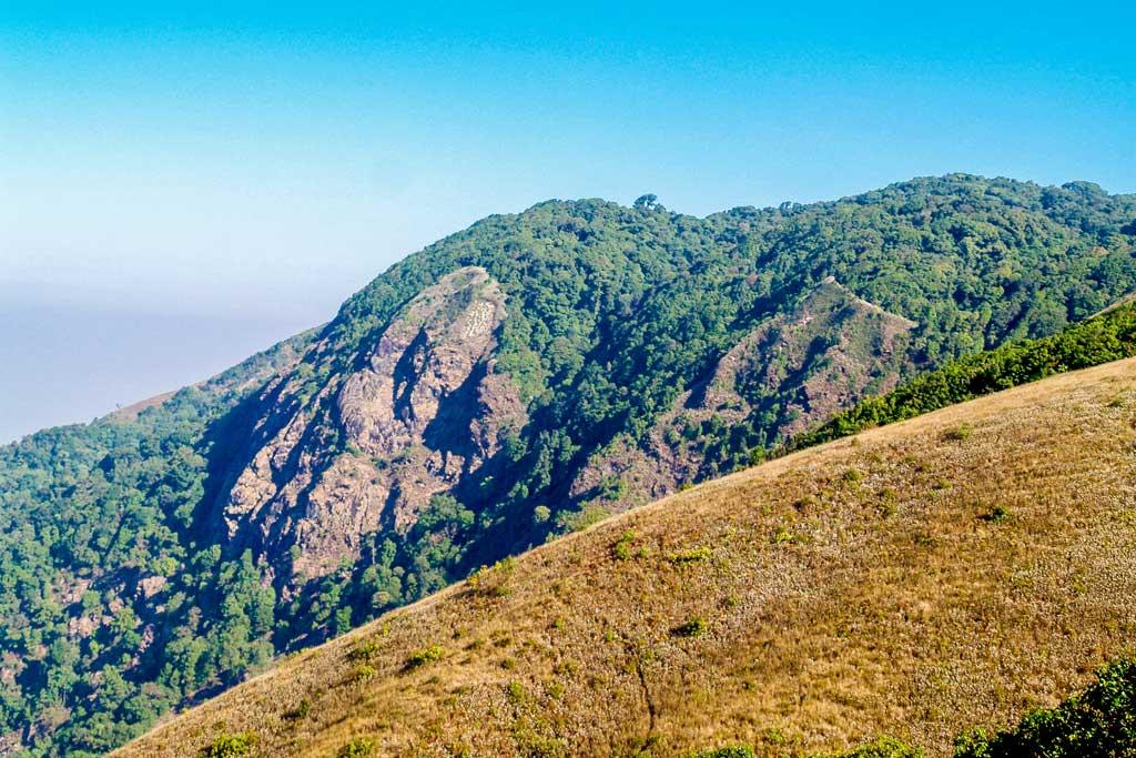 Montagne et plaine à Chiang Mai