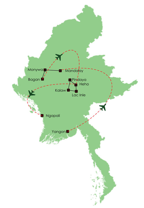 Circuit Birmanie 15 jours