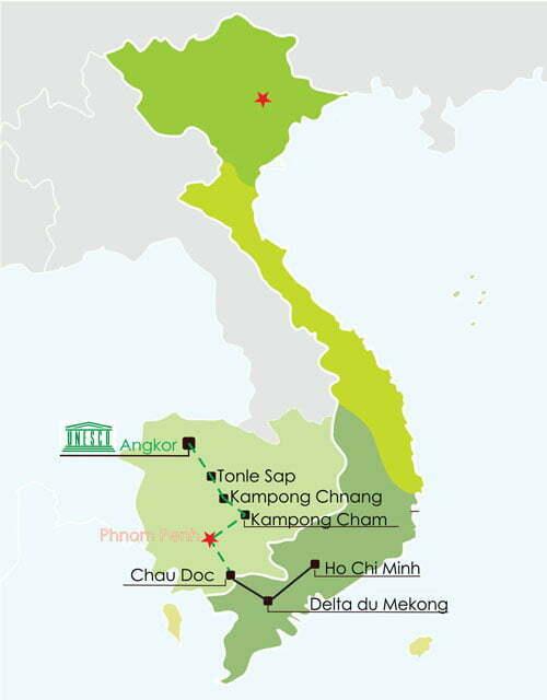 Croisière Mekong Saigon - Siem Reap
