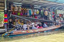 marché flottant Damnoen Saduak Thailande