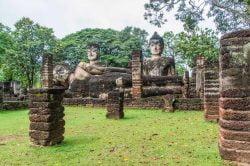 kamphaeng phet parc historique thailande
