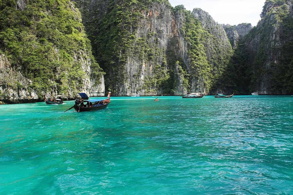 baie ko phi phi thailande