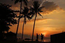 Coucher de soleil sur Koh Lanta