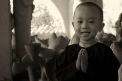 enfant moine birmanie