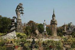 statues nong khai Thailande