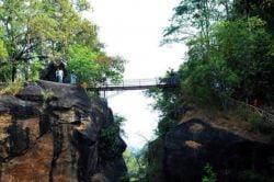 Pont suspendu - Parc National Thailande