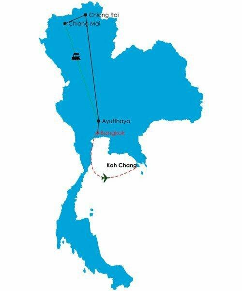 circuit thailande 14 jours