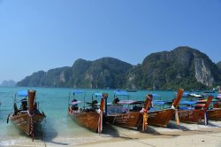 bateau ko phi phi Thailande
