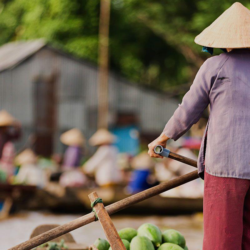 Voyage photos vietnam - Du Mekong aux temples d'Angkor