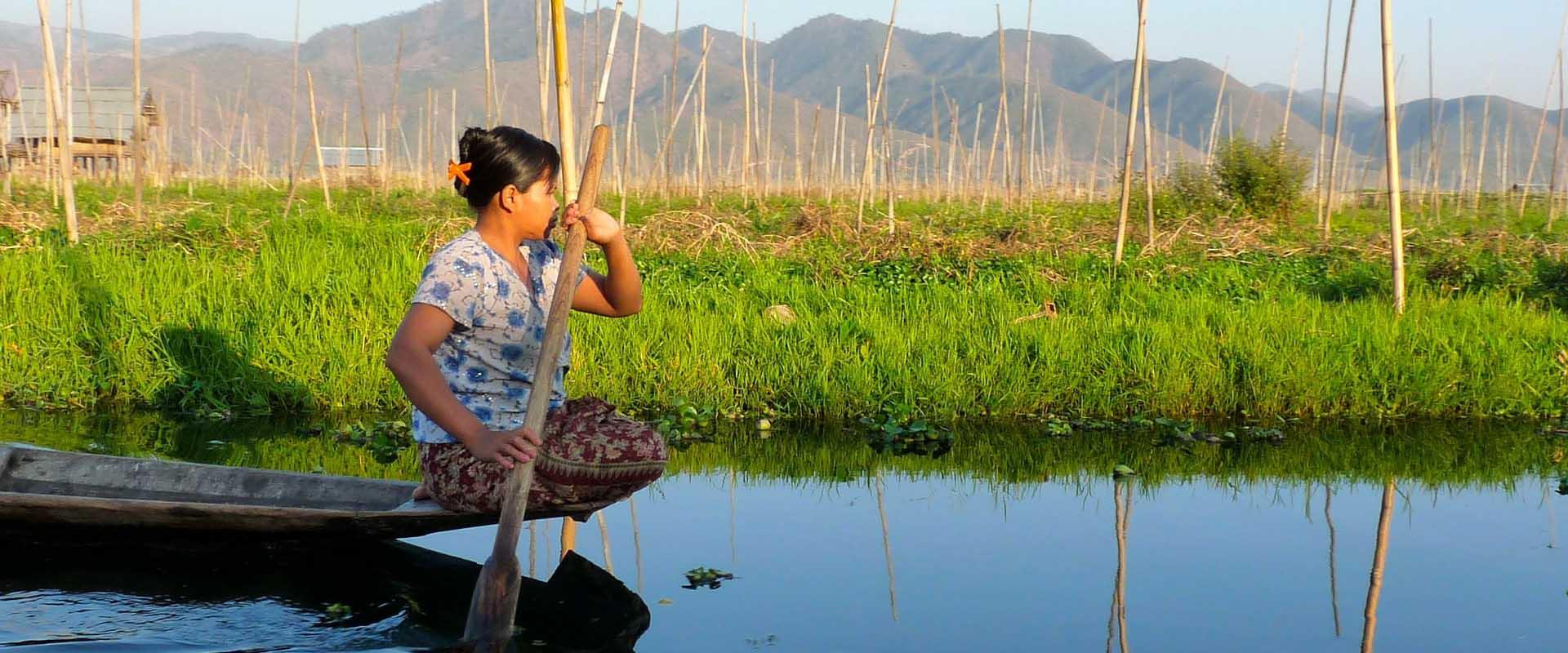 pêcheur rivière birmanie