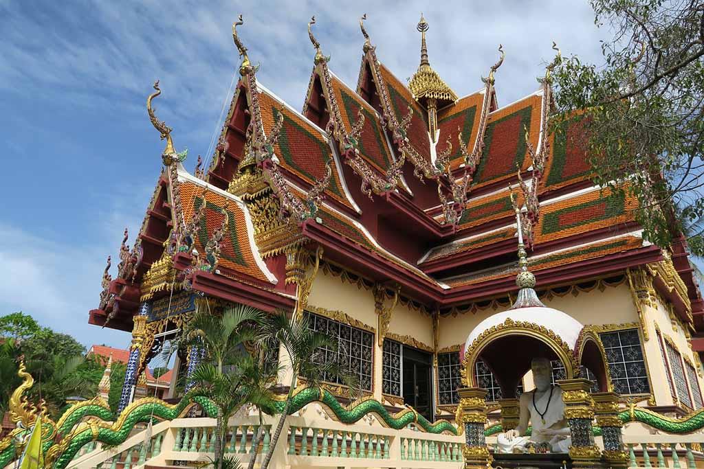 temple Koh Samui Thailande