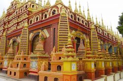 temple monywa birmanie