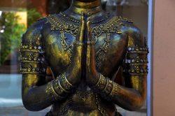buddha en bronze en Thailande