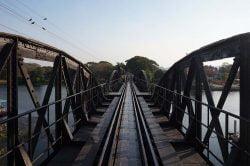 pont rivière Kwai Thailande
