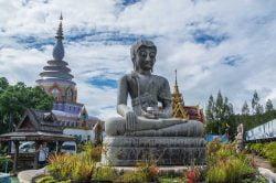 temple et buddha Thaton Thailande