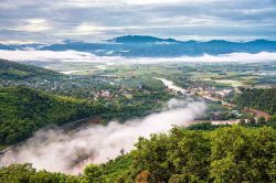 Rivère Thaton Thailande