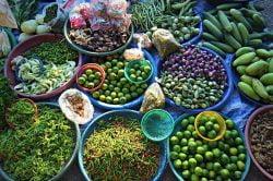 marché de fruits Thailande