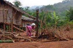 village Lahu Thailande