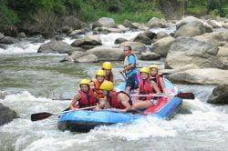 rafting village Lahu Thailande