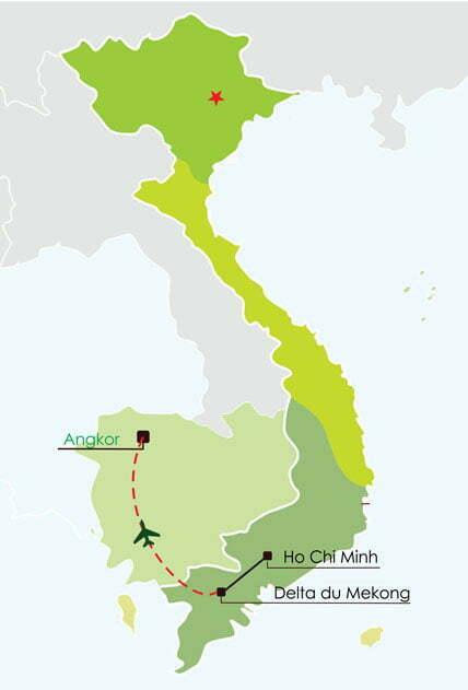 Voyage à Mekong et Angkor