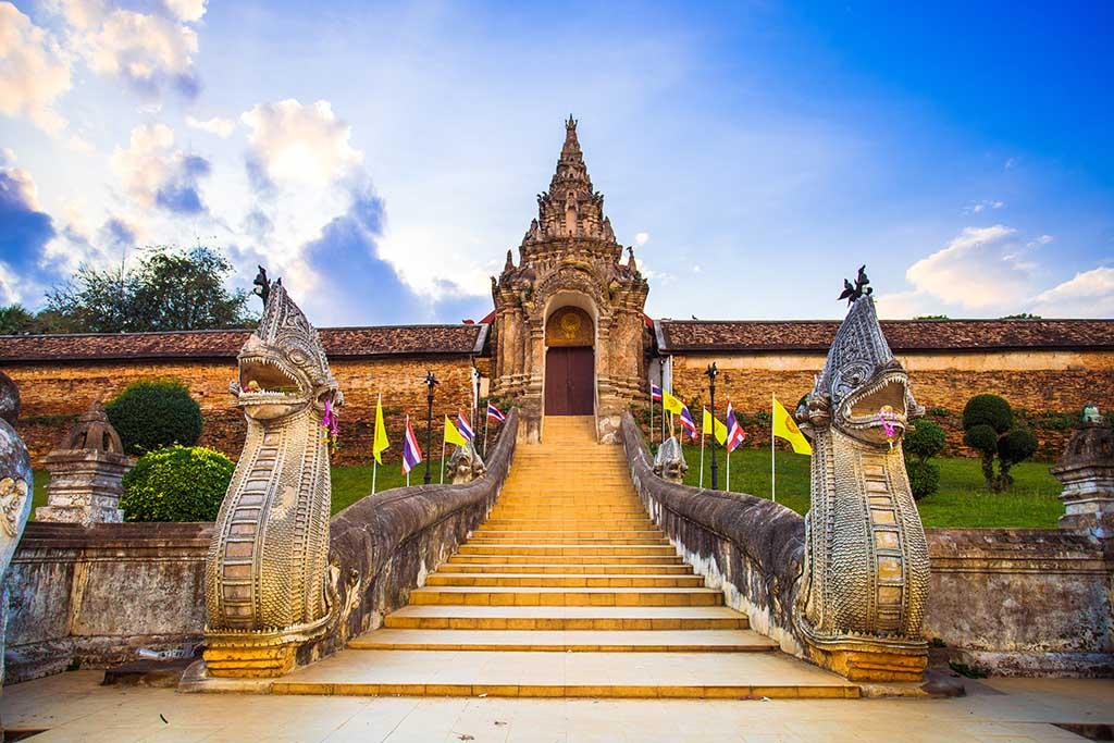 Wat Phra That Lampang Luang Thailande