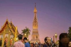 temple wat phra that phanom thailande