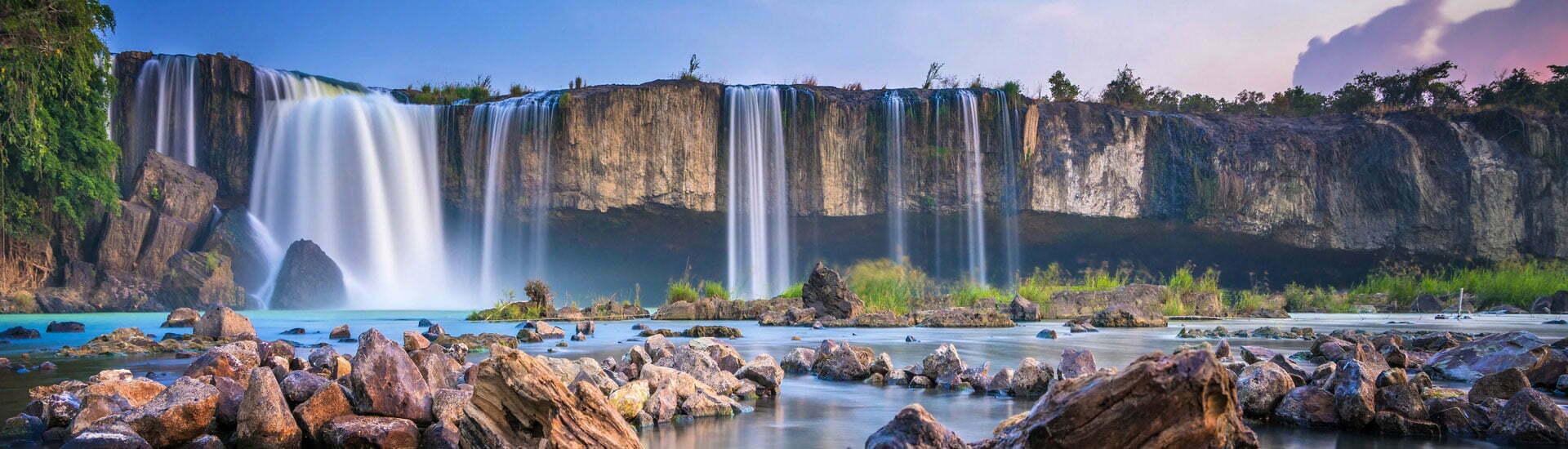 Chute d'eau au Vietnam